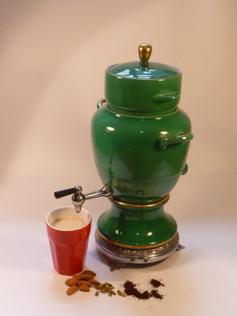 Ayurveda Kaffee mit Mandelmilch